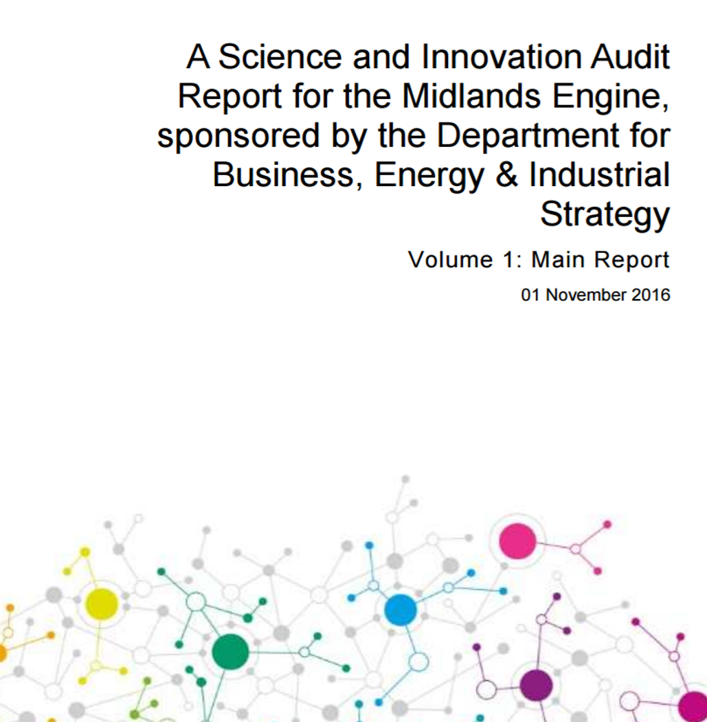 Announcement Of The Science And Innovation Audit Reports